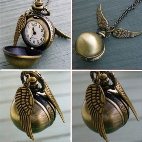 Harry Potter Round Pocket Watch