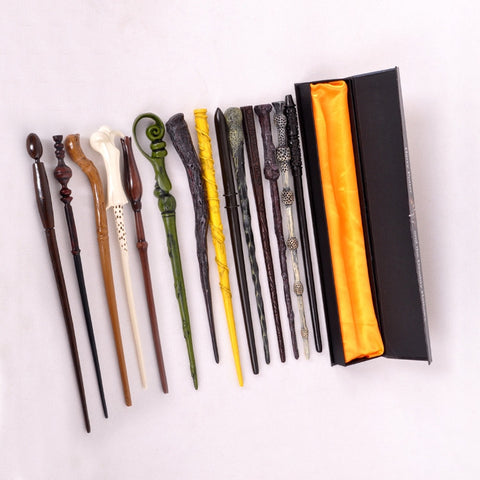 Package with original box Quality 2016 New  Cosplay Hogwarts Dumbledore Mediumistic Magical Wand Magic for Harry Potter cosplay