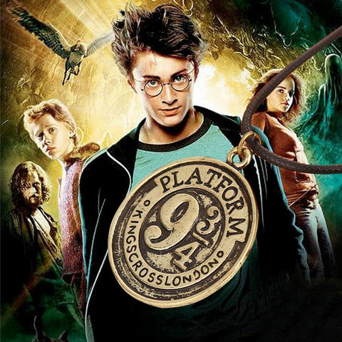 Harry potter with 934 bronze alloy necklace