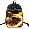 Preppy Style Hot Movie Designer Bag Harry Potter Backpack Satchels Cool Printing Nylon Backpack Casual School Book Bag For Teens