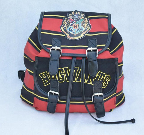 Harry Potter Backpack Printing Stripped