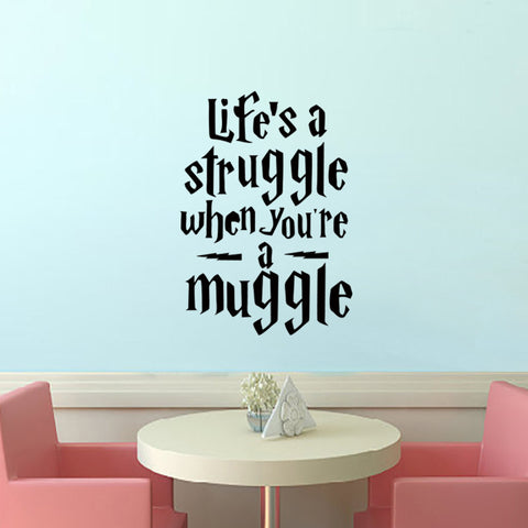 harry Potter Quotes Wall Sticker