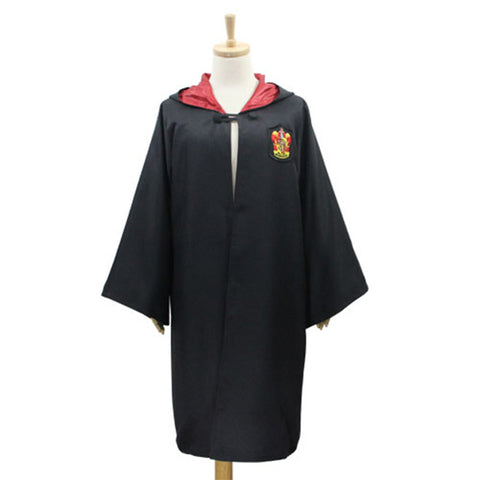 Movie Harry Potter Cosplay Costume Cloak Adult Unisex Gryffindor/Slytherin School Fancy Halloween Costume Only Cloak