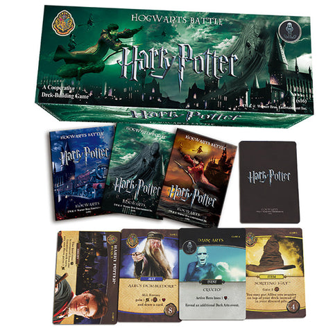 204 PCS/SET Movie HP Cards Game , Funny Board Game English Edition