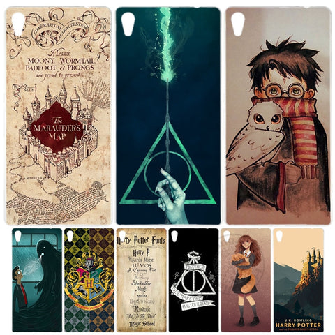Marauders Map Harry Potter DEATHLY HALLOW QOUTES Cover  Case