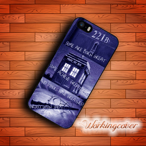 Fundas Tardis Doctor Who Harry Potter Case