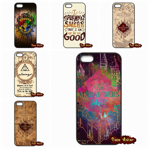 Harry Potter Marauder's Map Case Cover