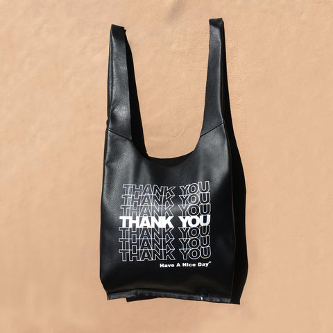 Gratitude Grocery Bags | Leather Edition