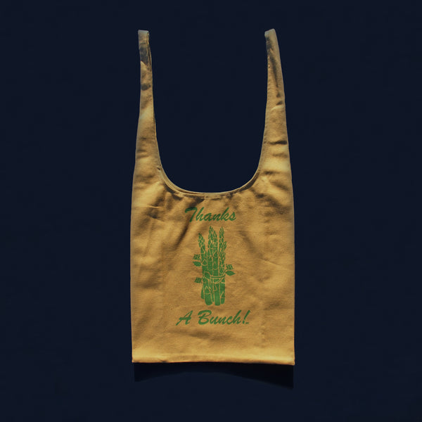 ASPARAGUS in DUNE | GRATITUDE GROCERY BAGS
