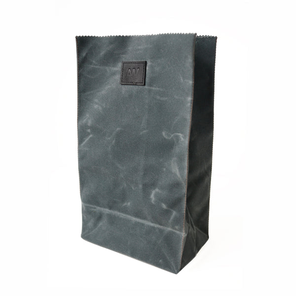 WAXED CANVAS LUNCH BAG | SLATE