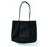 ON THE GO POCKET TOTE | BLACK