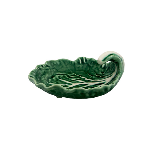Bordallo Pinheiro Cabbage Platter Leaf with Curvature 12 - Set of 2