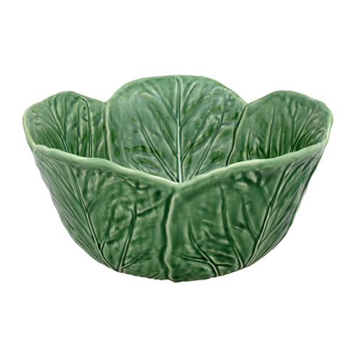 Bordallo Pinheiro Cabbage Tall Salad Bowl