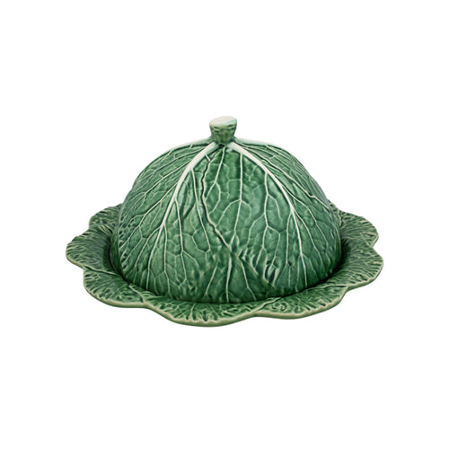 Bordallo Pinheiro Cabbage Cheese Tray Natural