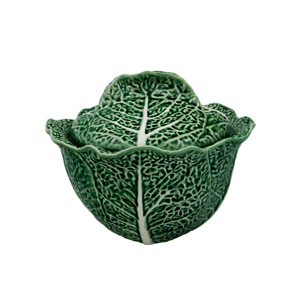 Bordallo Pinheiro Cabbage 3L 101 oz. Tureen