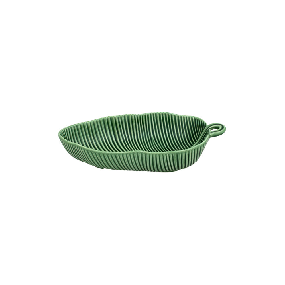 Bordallo Pinheiro Salad Bowl Banana Leaf 28 Green