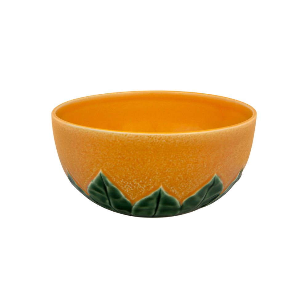 Bordallo Pinheiro Orange Salad Bowl