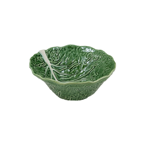Bordallo Pinheiro Cabbage Deep Salad Bowl 29 Natural