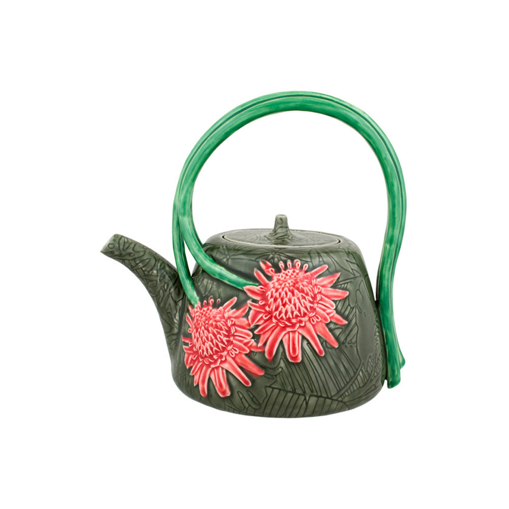 Bordallo Pinheiro Tropical Tea Pot