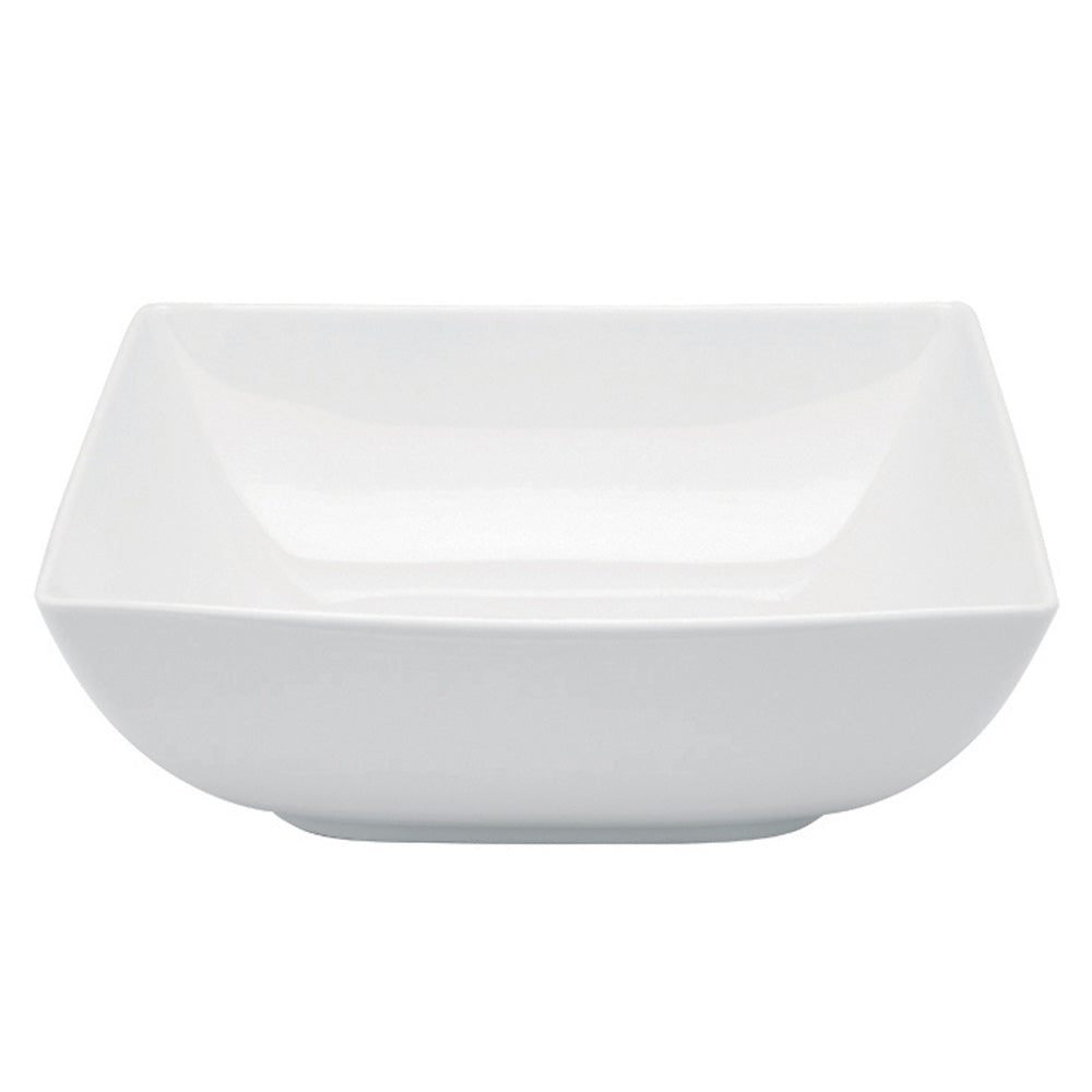 Vista Alegre Porcelain Carré White Salad Bowl