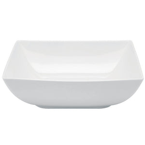 Vista Alegre Porcelain Carré White Soup Plate - Set of 4