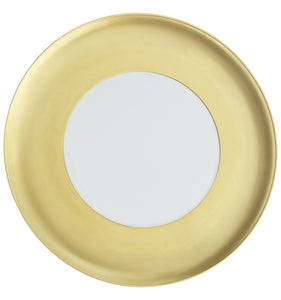 Vista Alegre Domo Gold Porcelain Charger Plate - Set of 4