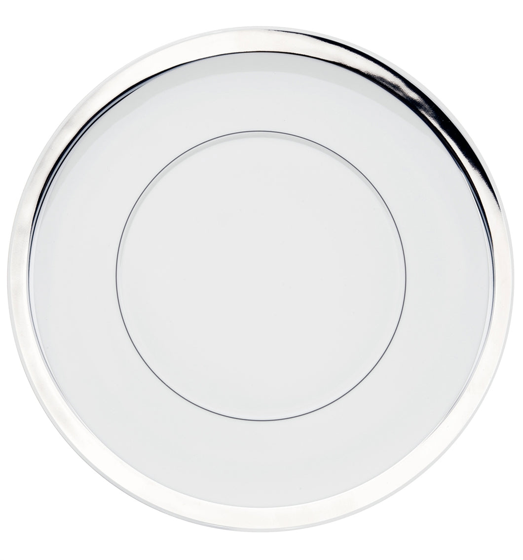 Vista Alegre Domo Platinium Porcelain Charger Plate - Set of 4