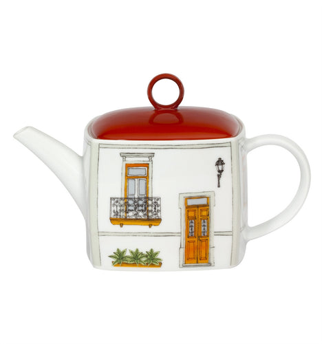 Vista Alegre Soul of Lisbon Porcelain Tea Pot