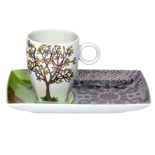 Vista Alegre Soul of Lisbon Tray and Mug