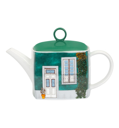 Vista Alegre Soul of Porto Porcelain Tea Pot