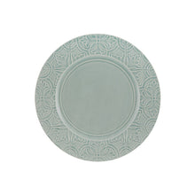 Load image into Gallery viewer, Bordallo Pinheiro Rua Nova Dinner Plate 28 Morning Blue - Set of 4