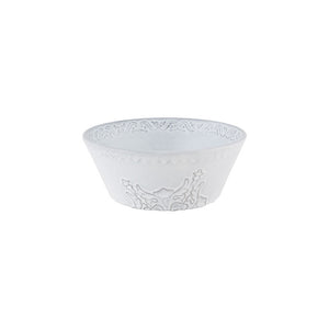 Bordallo Pinheiro Rua Nova Cereal Bowl 16 Antique White - Set of 4