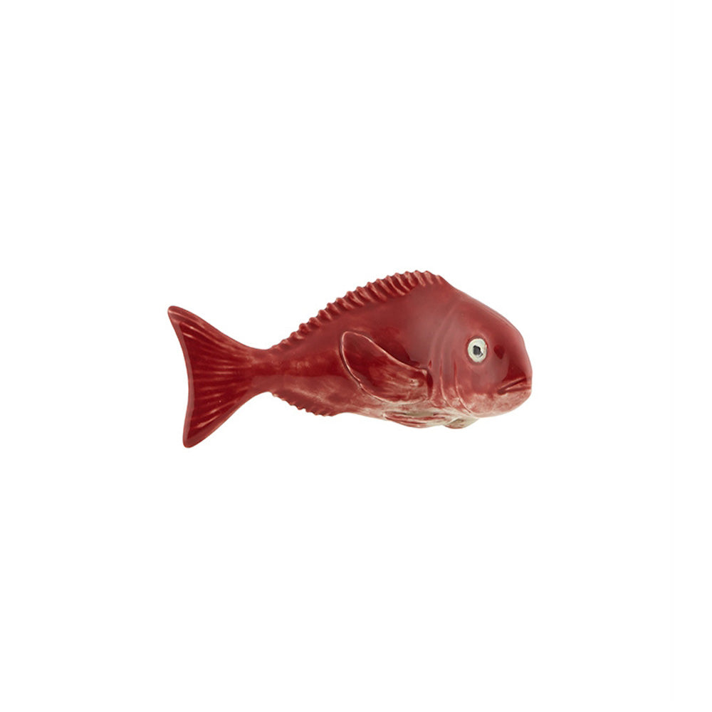 Bordallo Pinheiro Fish and Shellfish Decorative Red Porgy