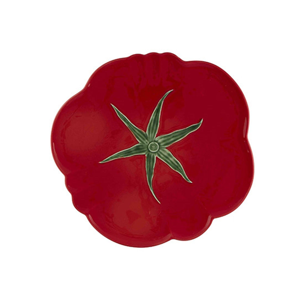 Bordallo Pinheiro Tomato Pizza Plate 30 - Set of 4