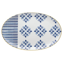 Load image into Gallery viewer, Vista Alegre Porcelain Transatlântica Large Oval Platter