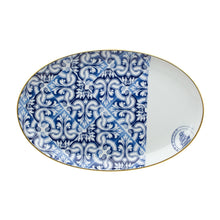 Load image into Gallery viewer, Vista Alegre Porcelain Transatlântica Medium Oval Platter