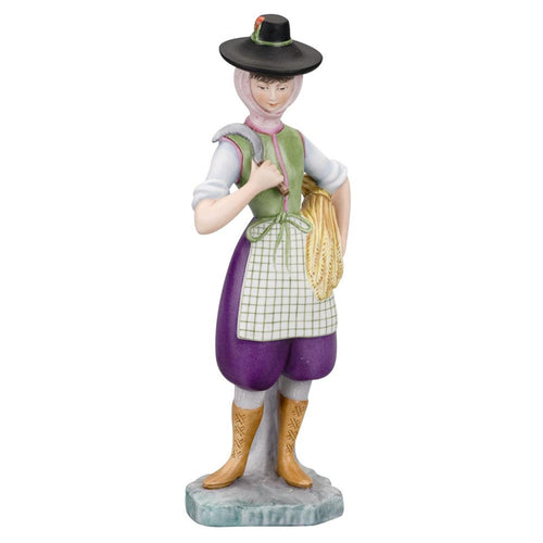 Vista Alegre Porcelain Figurine Regional Costumes Collection Alentejo