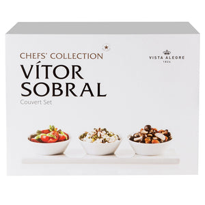 Vista Alegre Chef's Collection Pack Couvert by Vitor Sobral