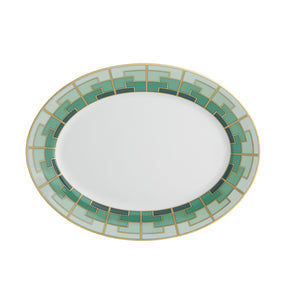 Vista Alegre Porcelain Emerald Medium Oval Platter