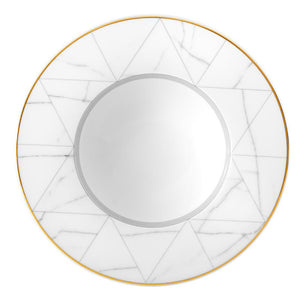Vista Alegre Porcelain Carrara Soup Plate - Set of 4