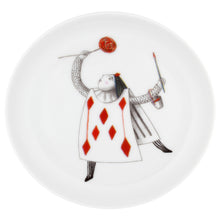 Load image into Gallery viewer, Vista Alegre Porcelain Tea With Alice Set Small Cake Stand & 4 Plates