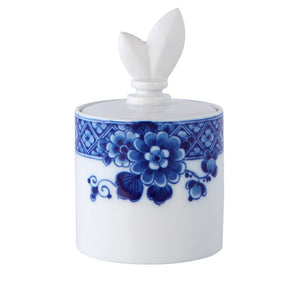 Vista Alegre Porcelain Blue Ming Sugar Bowl