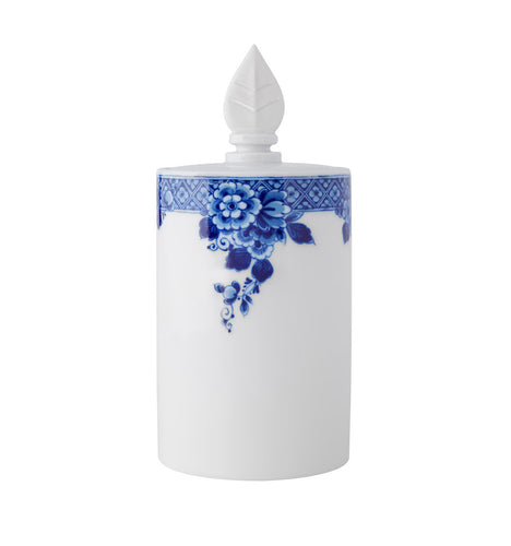 Vista Alegre Porcelain Blue Ming Cookie Jar