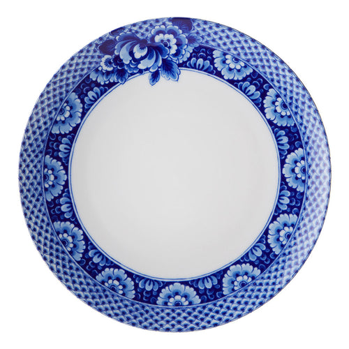 Vista Alegre Porcelain Blue Ming Dinner Plate - Set of 4