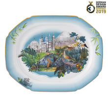 Load image into Gallery viewer, Vista Alegre Porcelain Rêveries Small Platter By Christian Lacroix