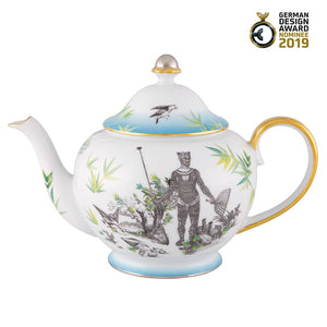 Vista Alegre Porcelain Rêveries Tea Pot By Christian Lacroix