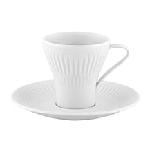Load image into Gallery viewer, Vista Alegre Porcelain Utopia Set of 4 Espresso Cups and Saucers