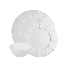 Load image into Gallery viewer, Vista Alegre Porcelain Matrix White 3 Pieces Set