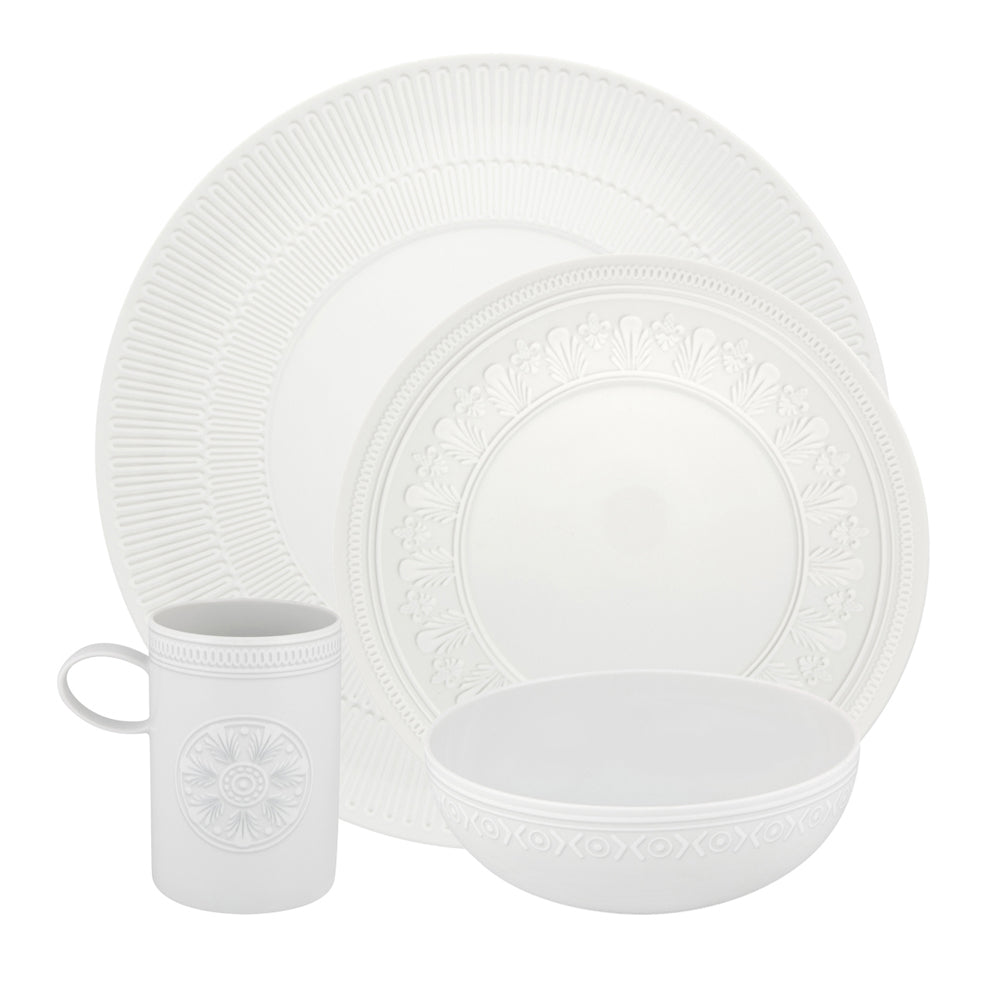 Vista Alegre Porcelain Ornament 4 Piece Dinnerware Set
