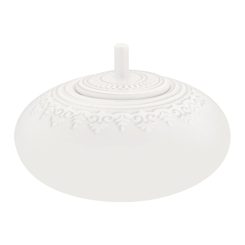 Vista Alegre Porcelain Ornament Sugar Bowl